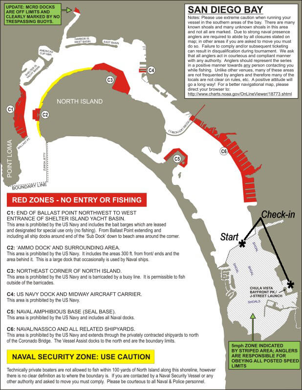 san diego bay no fishing map swba